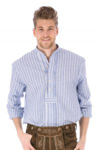 Trachtenhemd-Pfoad-Stehkragen-Obis-DIOMO-blau-natu56be02832f71d